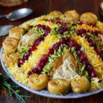 راحتترین روش پخت پلو آلبالو